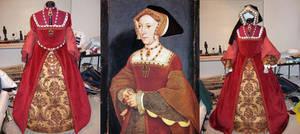 Jane Seymour replica gown by keiriel
