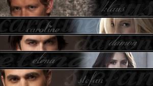 Vampire Diaries Wallpaper by dodo91085