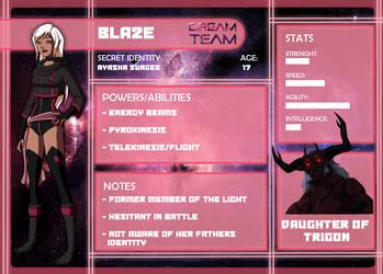 Dream Team App: Blaze by Estrella-Angel