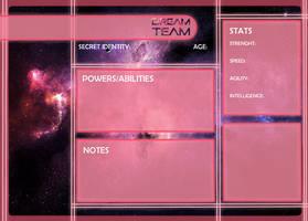 Dream Team Application by Estrella-Angel
