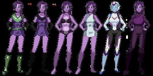Mel: Wardrobe 2.0 by Estrella-Angel