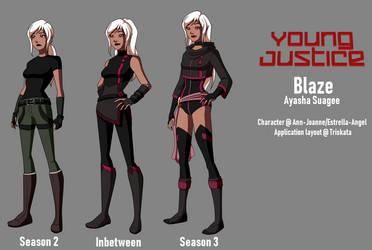 Young Justice Seasons - Ayasha by Estrella-Angel