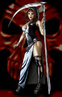 Keres the goddess of death by Dan-DeMille