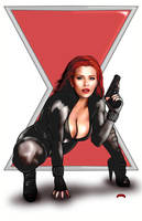 Black Widow by Dan-DeMille