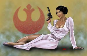 Princess Leia by Dan-DeMille