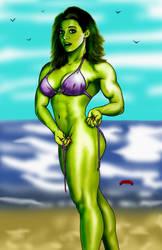She-hulk Untied by Dan-DeMille