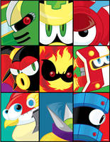 MegamanTribute: Indispensables by ToferVs