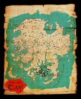 Myst: Map of Tay (Colored Version) by Rivendude