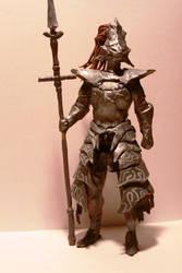 Dragon Slayer Ornstein by AnotherDungeonhero