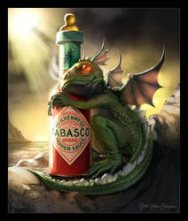 Baby Dragon - Tabasco by jwohland
