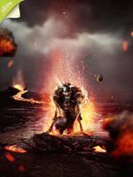 volcanic demon by GestiefelteMieze