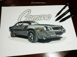 79 Camaro Done by Mipo-Design