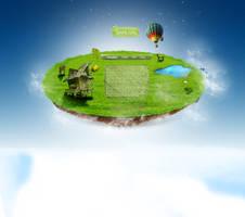 Portfolio island layout by miguslaw