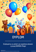 Diploma / Dyplom for ilusionist by miguslaw