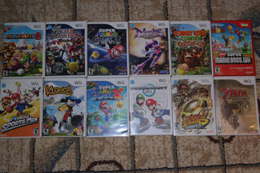 My Wii Games by Just-Call-Me-Sonic