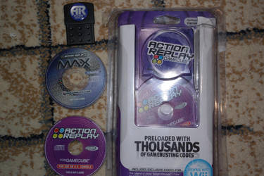Action Replay for GameCube by Just-Call-Me-Sonic