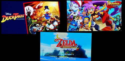 wii u console games by Just-Call-Me-Sonic