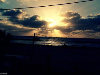 The new sunset by lidlshmidl