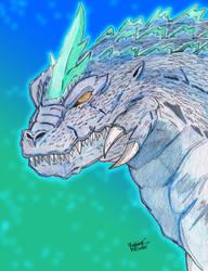 Super Godzilla (Head Design) by AVGK04