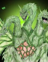 Ultimate Hybrid: BioGhidorah by AVGK04