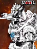 GODZILLA (PS3): [Exclusive] Super Kiryu by AVGK04