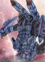 GEX-064 Armored Godzilla by AVGK04