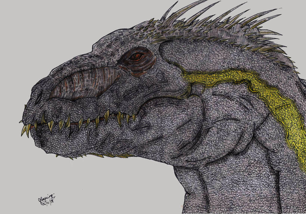Kyoryu Portraits: IndoRaptor by AVGK04