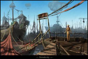 Armada City by Medhi
