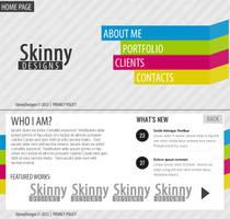 SkinnyDesigns website design by SkinnyDesigns