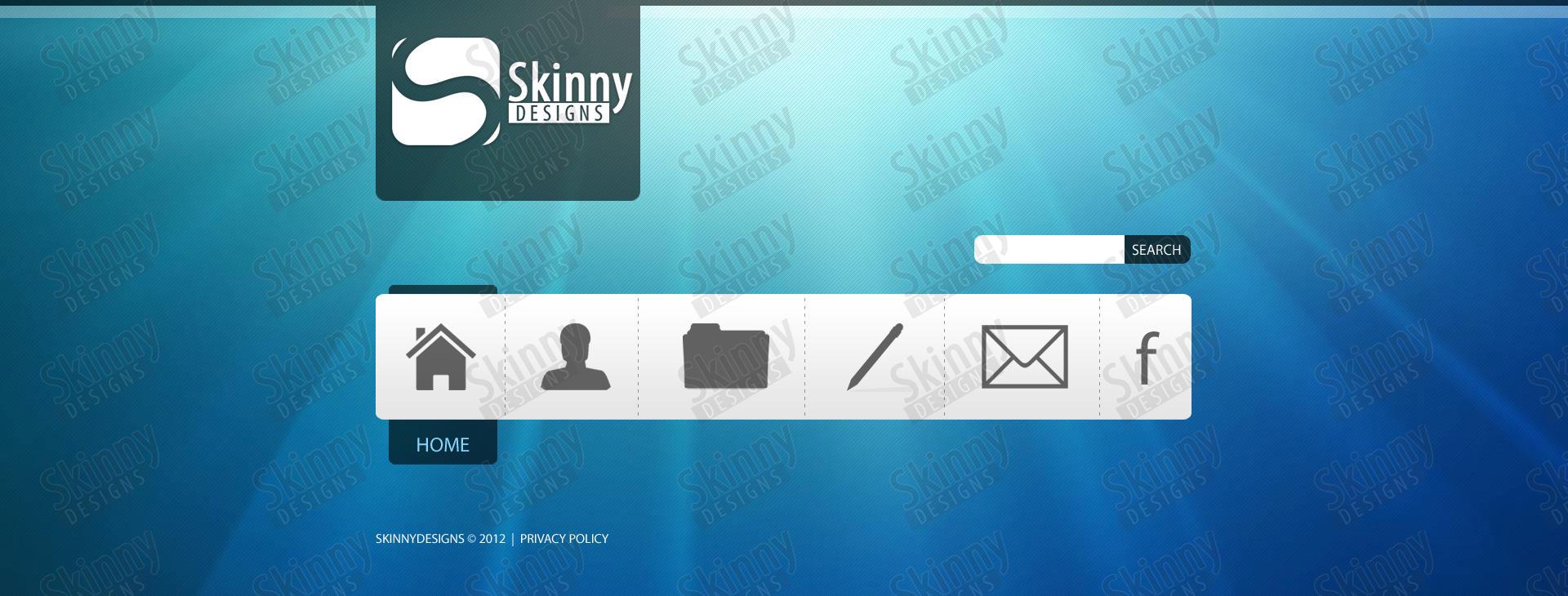SkinnyDesigns's webdesign #2 by SkinnyDesigns