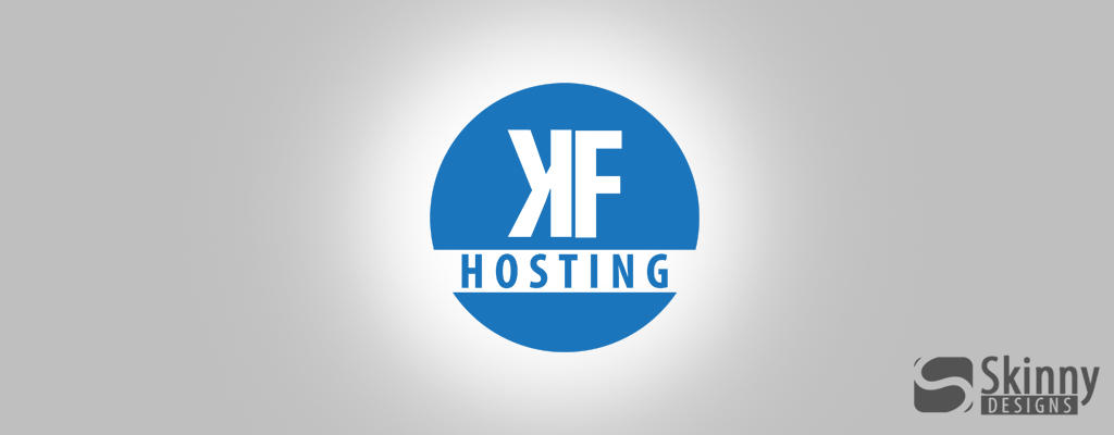 KF-Hosting Logo by SkinnyDesigns
