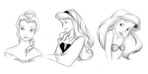 Disney Princesses by katief8