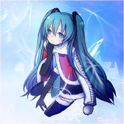 Miku Winter Theme by HentaiKing4Ever