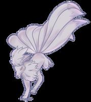 Shiny Kyukon | Ninetales Commission by AutobotTesla