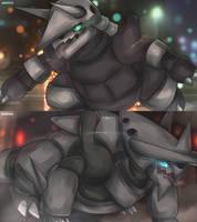 Rage of an Iron Golem by AutobotTesla