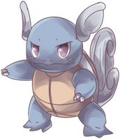 Riviere's Wartortle Commission by AutobotTesla