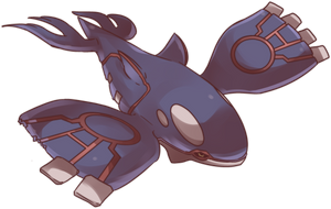 Battle Damage Kyogre Commission by AutobotTesla