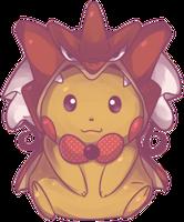 Custom Poncho Pikachu (Shiny Gyarados) Commission by AutobotTesla