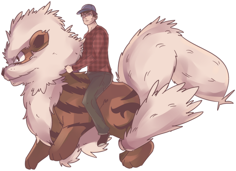 Windie | Arcanine Rider Commission by AutobotTesla
