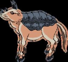 Clipart Suisai(Indian Rhinoceros) by hansendo