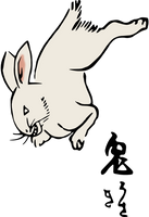 Clipart Rabbit by hansendo