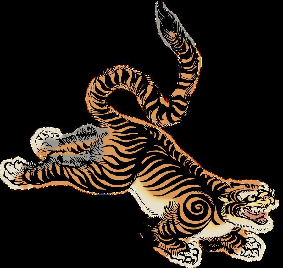 Clipart Tiger by hansendo