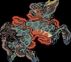 Clipart Qilin (Ki-rin) by hansendo