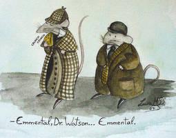 Mr Holmes's wisdom by Ardid-Art