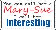 Mary-Sue by Ishdakitty