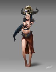 Character Concept Art by aandre311