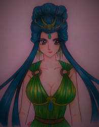 DIOSES: Hera by ehatsumi