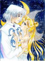 Almaz and Princess Serenity by SelenaSeleria
