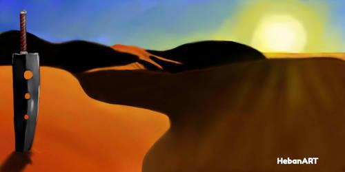 Desert by HebanART