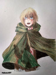 Armin Arlert by HebanART